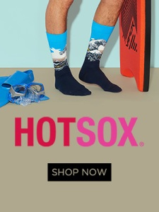 Hot Sox Fun Fashion Socks